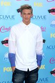 LOS ANGELES - AUG 11:  Cody Simpson at the 2013 Teen Choice Awards at the Gibson Ampitheater Univers