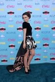 LOS ANGELES - AUG 11:  Lily Collins at the 2013 Teen Choice Awards at the Gibson Ampitheater Univers