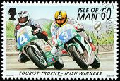 Motor Sport Stamp #2