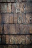 Dark wooden panelling background