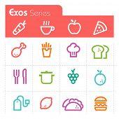 Food Icons Exos Series