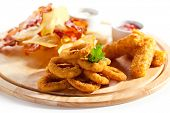 image of tar  - Deep Fried Onion Rings - JPG