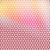 Abstract red patten background with instagram effect