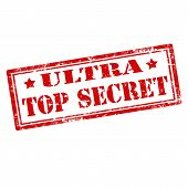 Ultra Top Secret-stamp