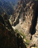 Black Canyon pintado parede