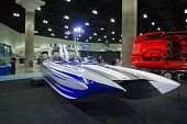 M-31 Boat On Display At The Los Angeles Boat Show On February 7, 2014 At The L.a. Convention Center