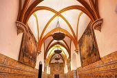 Charles V Room Tapastries Alcazar Royal Palace Seville Spain