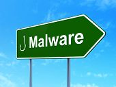 pic of malware  - Security concept - JPG