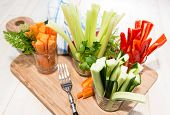 pic of crudites  - Mixed Vegetables  - JPG