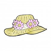 picture of crazy hat  - cartoon summer hat - JPG