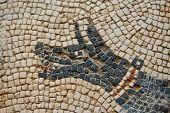 Mosaic Dog Detail