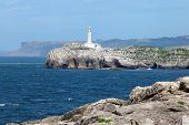 Lighthouse in Santander, Spain