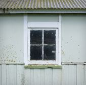 Old shed window