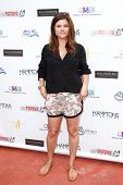 BRIDGEHAMPTON, NY-JUL 19: Actress Tiffani Thiessen attends the 6th Annual Family Fair at the Childre
