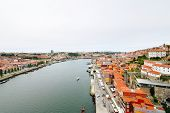 Above View Of Porto City And River Douro