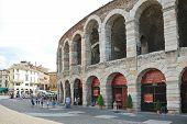 Verona Arena - Roman Amphitheatre In Verona, Italy