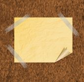 Collection of various white note papers, ready for your message.