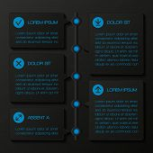 Infographic template banners. Vector illustration.