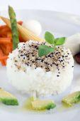 Rice And Sesame Seeds