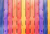 Wooden wall for backgrounds.