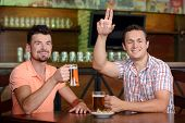 picture of waiter  - One more beer please - JPG