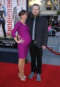 LOS ANGELES - APR 13:  Elden Henson & Kira Sternbach arrives to the