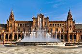 Beautiful Plaza de Espana, Seville, Spain