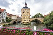Old town hall in Bamberg, Germany