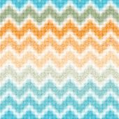 Seamless colorful zigzag halftone pattern