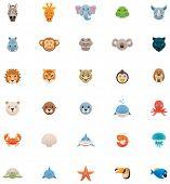Animals icon set. Part 2