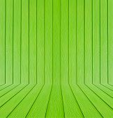 Green Wood Texture Background