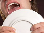 Plate Licking