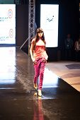 Fashion Show For Splash Fashion Model 04 (on Runway)