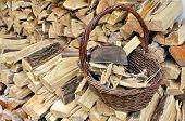 Basket Full Of Kindling