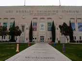 Exterior Of Los Angeles Swimming Stadium Front Entrance