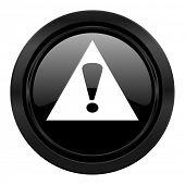 exclamation sign black icon warning sign alert symbol