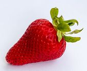 Fresh Strawberry Indicates Organic Products And Juicy