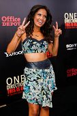 NEW YORK-AUG 26: Rocsi Diaz attends the New York premiere of 'One Direction: This Is Us' at the Ziegfeld Theater on August 26, 2013 in New York City.