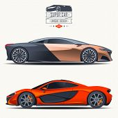 pic of generic  - Super car design concept - JPG