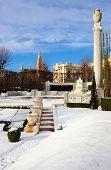 stock photo of sissi  - Monument empress Sisi in the Volksgarten Vienna Austria - JPG