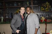 LOS ANGELES - DEC11: Scott Nevins, Alex Newell at SPARKLE: An All-Star Holiday Concert to benefit The Actors Fund at Rockwell Table & Stage on December 11, 2014 in Los Angeles, California