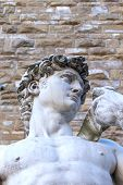 The Famus David Sculpture In Florence (italy)