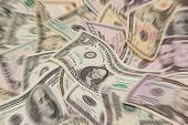 Blurred Money Background