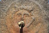 Pompeii ancient water tap