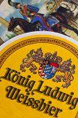 Beermats From Konig Ludwig Beer.
