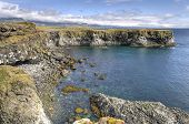 Cliffs And Basalt Rocks Near Arnarstapi, Snaefellsnes Peninsula in Iceland