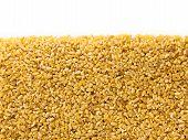 Bulgur Wheat  With Copy Space