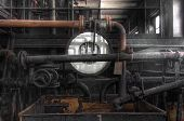Old Industrial Scale