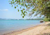 Tropical Beach Shore In Thailand