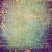 Abstract old background or faded grunge texture. With different color patterns: cyan; yellow (beige); green; purple (violet)